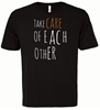 Picture of Take Care of Each Other Youth Black Tee